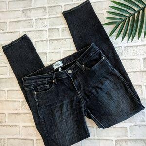 PAIGE Skyline Skinny Dark Wash Denim jeans